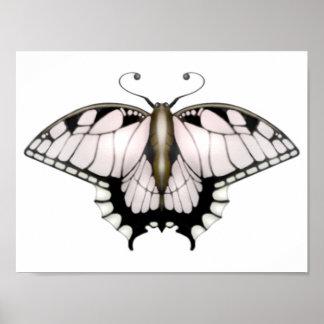 Póster El proyecto de la mariposa - mariposa de oro
