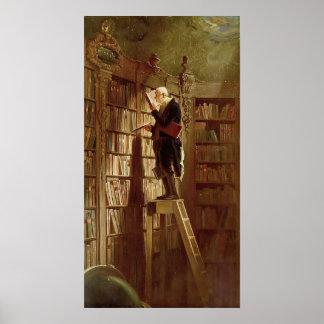 Póster El ratón de biblioteca