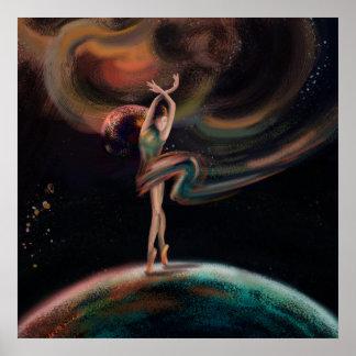 Póster El universo del baile