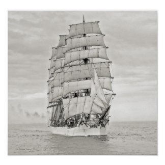 "Póster El velero ""Viking """