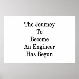 Póster El viaje para sentir bien a un ingeniero ha