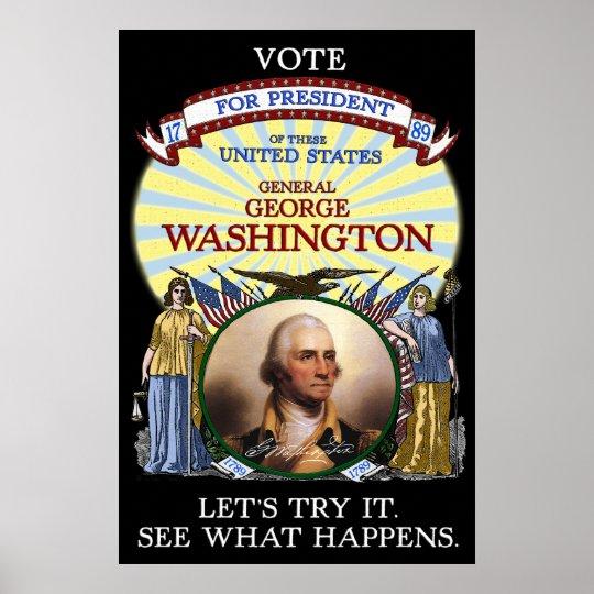"""Resultado de imagen de george washington campaign slogan"""""""