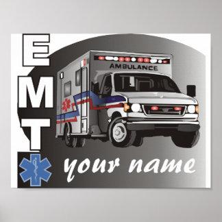 Póster EMT personalizado