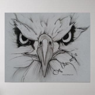 Póster En el borde - Eagle