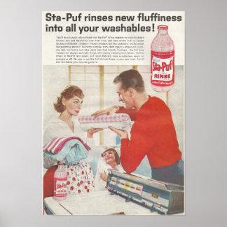 Póster En febrero de 1960 anuncio Sta Puf