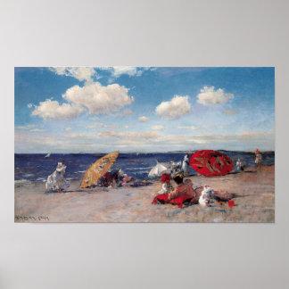 Póster En la playa