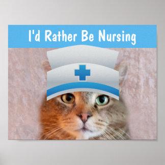 Póster Enfermera Rupie inspirado