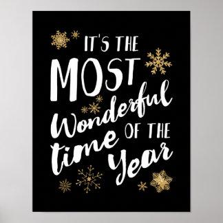 Póster Es la época del año más maravillosa - poster