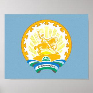 Póster Escudo de armas de Bashkortostan