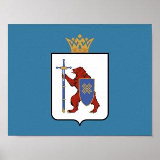 Póster Escudo de armas de Mordovia