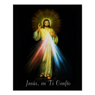 Póster Español del poster de Jesús Divina Misericordia -