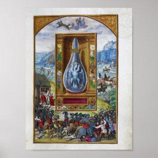 Póster Esplendor Solis, un tratado alquímico alemán