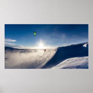 Póster Esquí de los días Nevado