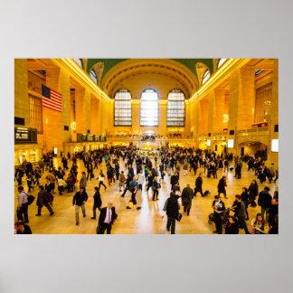 Póster Estación central magnífica NYC