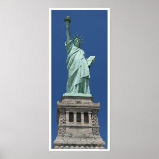 Póster Estatua de la libertad/de la alta resolución