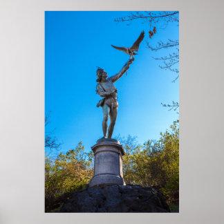 Póster Estatura NYC del Central Park