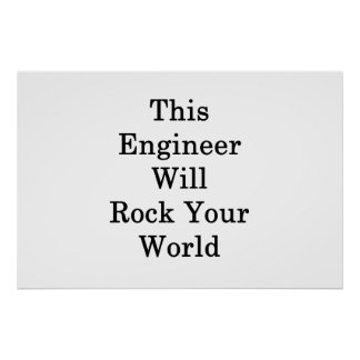 Póster Este ingeniero oscilará su mundo