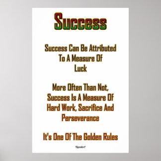 Póster Éxito