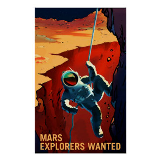 Póster Exploradores de Marte queridos - poster del
