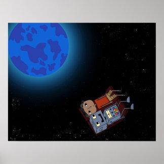 Póster Explore el universo - poster inspirado