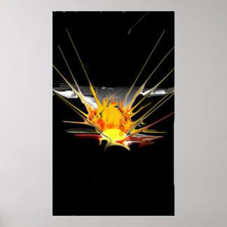 Póster Explosión de Sun