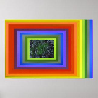 Poster - extracto del arco iris