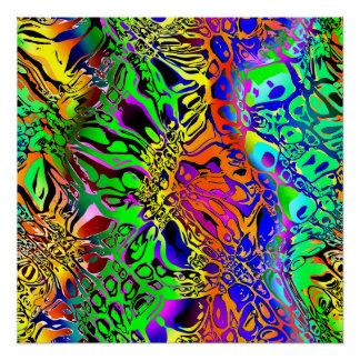 Póster Extracto espectral de las formas