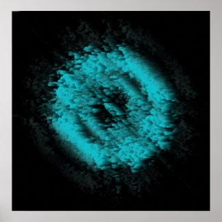 Póster Fantasma azul