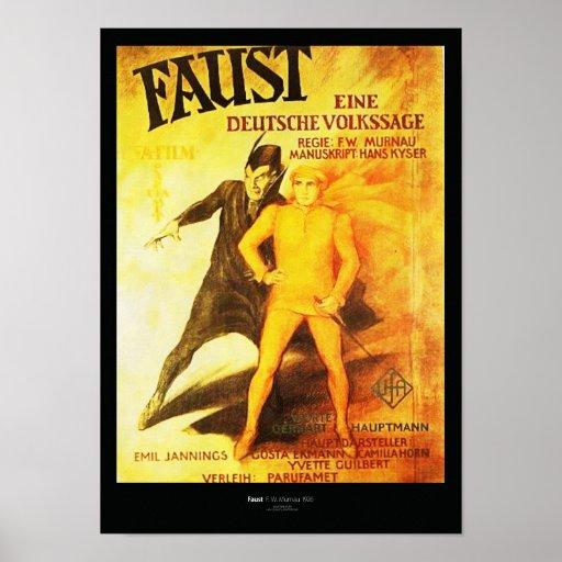 Póster Faust Restored Adaptation