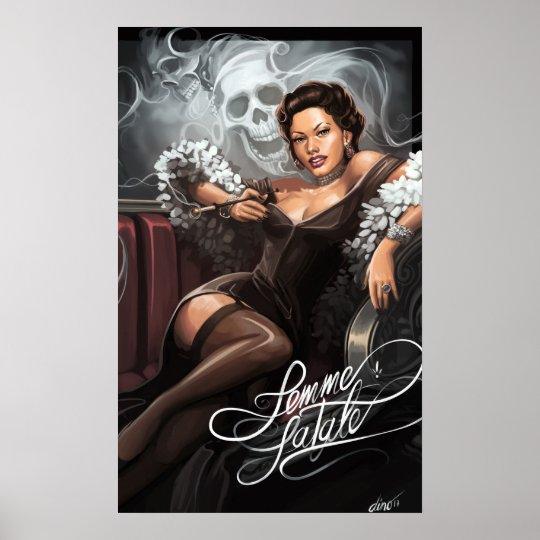 Póster Femme fatale