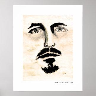 Poster figurado de la pintura de la bella arte del
