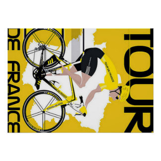 Póster Fijar Tour de France