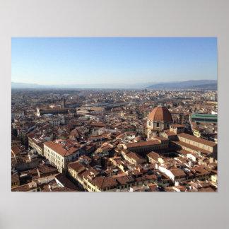 Póster Florencia del Duomo