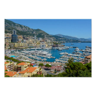 Póster Fotografía de Mónaco Monte Carlo