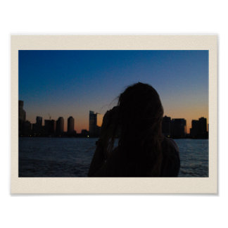 Póster Fotógrafo de Nueva York