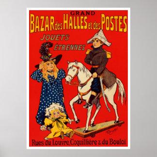 Poster francés del vintage póster