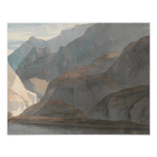 Póster Francisco Towne - en el lago de Como