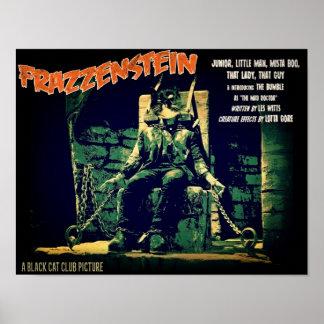 Póster ¡Frazzenstein soltó!