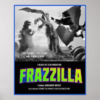 Póster ¡Frazzilla contra el Skink Tres-Dirigido! Cartel