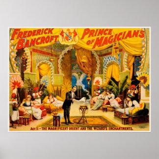 Póster Frederick Bancroft, príncipe del poster de los