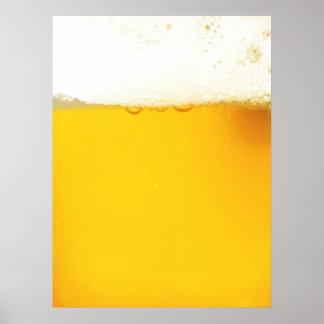 Poster fresco de la cerveza