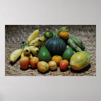 Póster Frutas