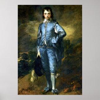 Póster Gainsborough - el muchacho azul
