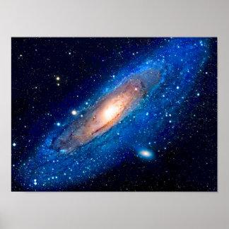 Póster Galaxia del Andromeda