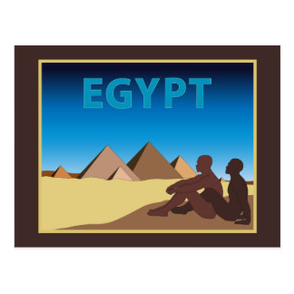 Poster gay Egipto del viaje Postales