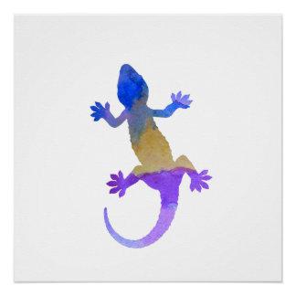 Póster Gecko