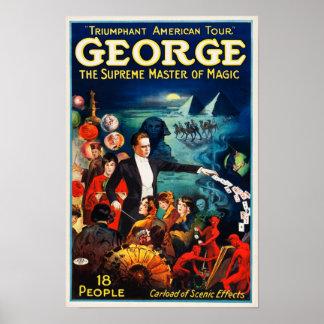 Póster George --El amo supremo del poster mágico