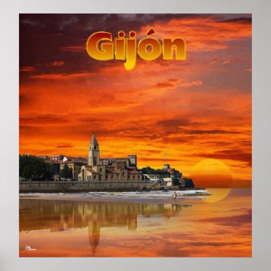 Póster Gijón