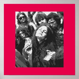 Póster Girl' s *Hippie-Actittude*