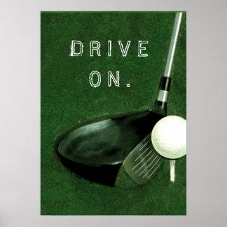 Póster Golf
